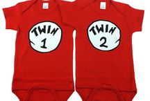 Twins Are Fun / Dressing up twins is always fun. Coordinating and matching outfits for twins is not easy though. Hopefully these twin tips will help!