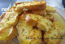 fırında yumurtalı kaşarlı ekmek