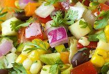 Salad & Vegetables {Recipes}