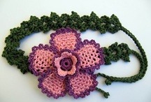 fiori crochet e maglia