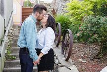 Just Engaged In Chicago / Be inspired by these engagement shoots from real Chicago couples.