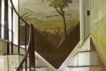 Rufus Porter murals
