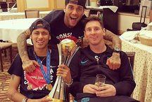 Dani , Neymar JR i Lionel
