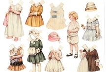 Paper Dolls / by Judy M