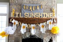 Liz's Baby Shower - You are my sunshine
