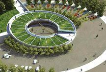 round building 椭圆形的建筑