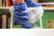 Knitting and crocheting / by Patricia Secor