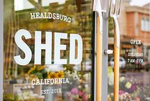 Visit Healdsburg / Walk about Healdsburg proper with this picture guide.