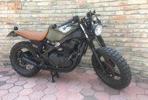 Motorky scrembler