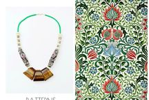 Patterns Collection / Empire's Fall-Winter Collection of necklaces.   Handmade and non duplicable items.