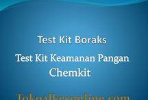 Test Kit Keamanan Pangan