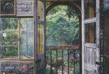 Garden/potting shed