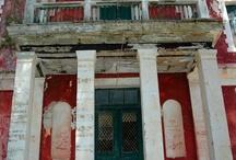 Corfu Island: Italian inspired buildings in venetian colors / https://www.facebook.com/lifethinktravel
