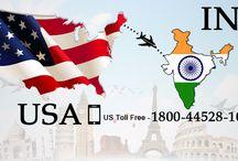 India to USA