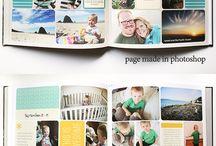 Fotoboek lay-outs