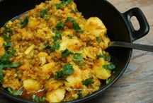 Vegan Curry and Indian Dishes
