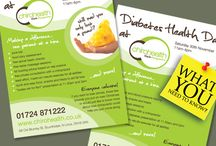 Flyers, Leaflets & Brochures / Flyer, leaflet and brochure design examples from Urban Feather