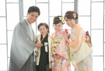 七五三 / 着物 袴 被布 家族着物 ドレス タキシード