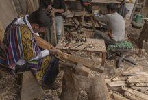 Los oficios   Máscaras de Sibundoy / En sus inicios, el uso de las máscaras en el país era de carácter religioso y simbólico. ¡Conoce más sobre esta artesanía en nuestra serie #ColombiaArtesanal! http://bit.ly/2tSMXqa