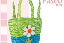 Bolsa de Paseo y Canasta para el Picnic / Es viernes y nos vamos de paseo!  Tenemos preparadas las cestas y no sabemos cuál elegir. ¿Nos ayudas?