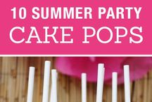Cake pops ideas