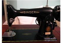 antique sewing, sewing machine