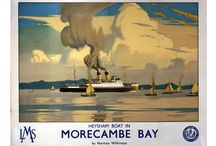 Lancashire / A collection of Vintage Travel Posters from Lancashire, England