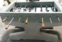 Concrete Foosball Tables
