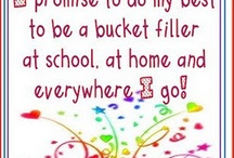 Bucket fillers  / Teaching tools / by Jessica Buell