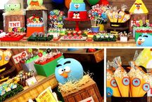 """""""Angry Birds"""" Party Theme"""