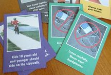 Book road safety child activity