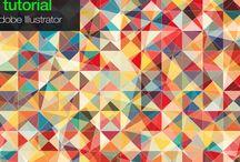 tutorials / Tutorials, illustrator, photoshop, cinema 4D, after effect