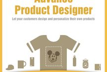 Magento Advance Product Designer Extension / Let your customers design and personalize their own products i.e. T-shirts, show pieces, mugs, cap and lot more using this #Magento Advance Product Designer Extension.