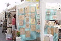 Festival/Show Booth Ideas / Ideas for displaying and selling my art and weaving.
