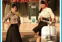 Indonesia Vespa Historical / Classic is not plastic