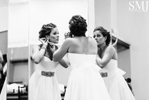 Wedding Getting Ready / Getting ready pictures taken by SMJ Photography
