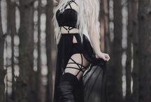 gothic girls❤