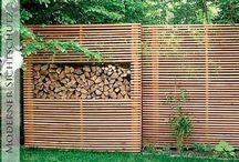 Holzobjekte Garten
