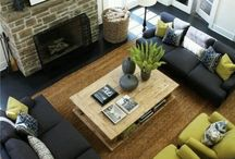 Living Room/ Dining Room Renovations / Many ideas of how to remodel or change up your existing room