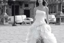 bruidsjurk voor kort achter lang
