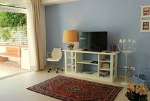 Casetta Azzurra Siracusa / Bright and cozy apartment for rent with a small private garden and two bikes in Siracusa.