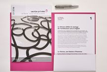 Vente Privée | Print | Dossier de Presse Le Vérone | 2016 / Le Studio 14 Septembre conçoit et produit le Dossier de Presse annonçant l'inauguration du Vérone, nouveau bâtiment de la société Vente Privée imaginé par le bureau d'architectes Wilmotte & Associés.