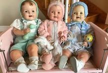 Dolls / Antique dolls, vintage baby dolls.
