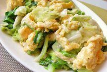 野菜メインのレシピ
