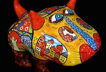 Керамика / Изделия из глины, теплые и волшебные.