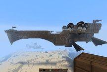 minecraft airship