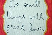 nice thoughts ♥