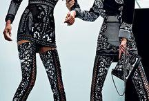 -BLACK NOIR- / Black on black luxe fashion, high styling and sexy drama! Fashion, style, women's fashion, outfits, luxury fashion, high end fashion, cute outfit, colorful fashion, fashion inspiration