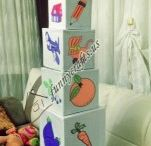 The Concept Cubes/The Colourful Towers