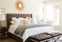 Master Bedroom Ideas / Some day I'd like to finally have the master bedroom of my dreams, a peaceful sanctuary my husband can I can retreat to and enjoy after a long day...